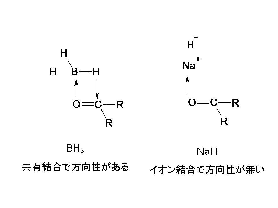 水素化ナトリウムの水素が求核攻...